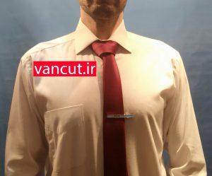 آموزش بستن کراوات بر روی پیراهن مردانه