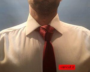 آموزش بستن گره کراوات ترینیتی